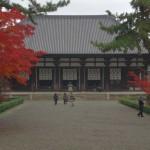 奈良の紅葉に唐招提寺で風情ある景色を楽しむ!