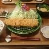 ぽくぽく奈良の大和ポークのとんかつは絶品!